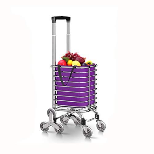 Chariot de courses pliable 25/kg Bagage /à roulettes Chariot de rangement de coffre pliable bo/îte Zizzi