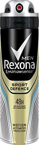 Rexona Men Deospray Sport Defence Anti-Transpirant, 6er Pack (6x 150 ml)