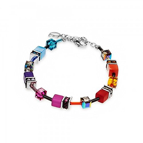 Coeur De Lion 2838/30-1520 Armband GeoCUBE® Multicolor Rainbow