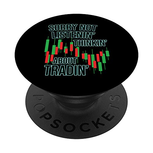 41HsZjkFnbL - Funny Day Trading Quote Stock Market Gifts PopSockets PopGrip: Swappable Grip for Phones & Tablets