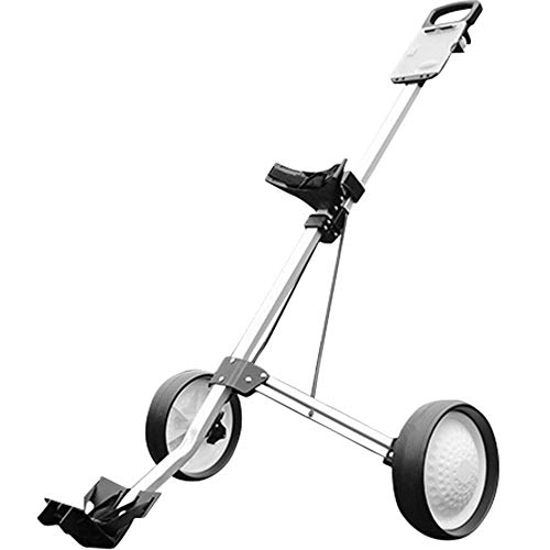 Feixunfan golfklubbsväska golfbil är lätt att rotera, vikbar push-pull-vagn, perfekt för en mängd olika tillbehör evenemang hopfällbar golfklubb reseförsäkring