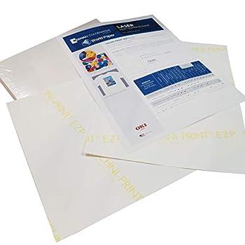 Laser Heat Transfer Paper for Light Fabric - Techni Print EZP- 10 Sheets - 8.5  x 11