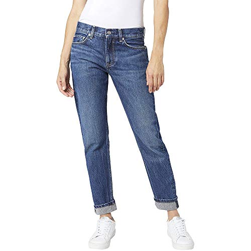 Pepe Jeans Mable Jeans Vaqueros, Azul (Denim G98), 34W / 28L para Mujer