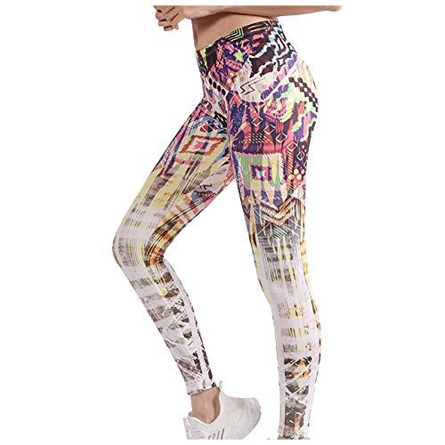 Butt Lifter Anti-Cellulite Yoga Hosen Damen Stretch Sport Yoga Leggings Modedruck High Taille Bauchkontrolle Kompressionshose Sporthosen Fitnesshose