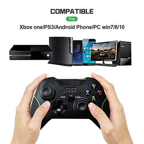 Wireless Controller for Xbox One,2.4GHZ Wireless Game Controller Compatible with Xbox One S/X/Elite, PS3, PC Windows 7/8/10,with Built-in Dual Vibration