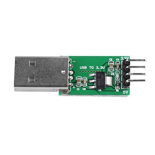 Step-Down-Modul, CE009 USB-Stromversorgungsmodul 5V bis 3,3V DC-DC-Step-Down-Buck-Konvertermodul für Raspberry Pi/Banana Pi / esp8266