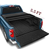 YITAMOTOR Tri-Fold Truck Bed Tonneau Cover Compatible with 2014-2020 Toyota Tundra with Track Bed Rail System, Fleetside...