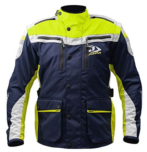 Jopa Enduro Jacket Iron Yellow Fluor-Blue Fluogelb-Blau Husqvarna Style 33404-L-415 (XXL)