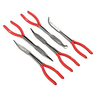 "ATE Pro. USA 93360 Long Nose Plier Set, 11"", 5 Piece"