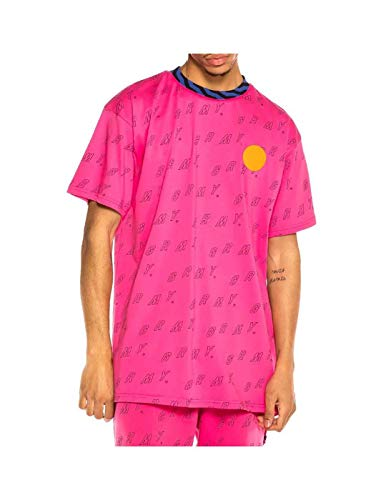 GRIMEY Camiseta Urmah Dojo All Over Print tee SS20 Pink-S