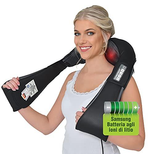 Massaggiatore cervicale e da collo con batteria ricaricabile Samsung- Donnerberg ORIGINALE- Cordless-...