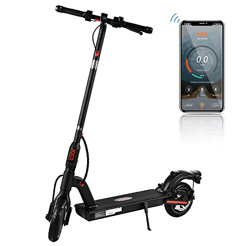 KKA Electric Scooter for Adults,Pro E Commuting Electric Scooter Long-range Battery Up to 18 Miles&15.5MPH MAX,Foldable&Portable Lightweight 8.5'Tires E Scooter Electric Adult with Dual Braking System