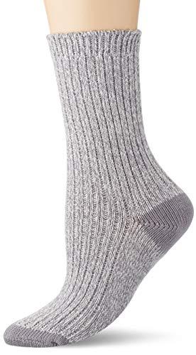 Marc O'Polo Body und Beach Damen W 1-Pack Socken, Grau, OneSize_1