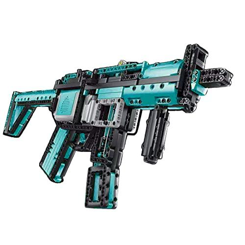 Morton3654Mam Juego de construcción para armas de tiro, 788 piezas, con función de disparo, compatible con Lego