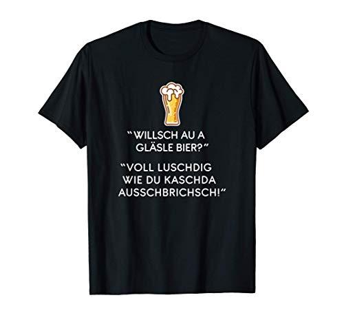 Schwäbisch Lustiger Bier Spruch Schwabe Geschenk T-Shirt