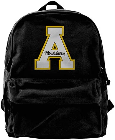 Appalachian State Mountaineers Vintage Canvas Backpack Casual Bookbag Laptop Backpacks Travel product image