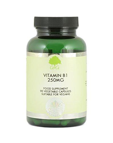 B1 THIAMIN 250MG 90 veg. Kapseln GG (vegan)