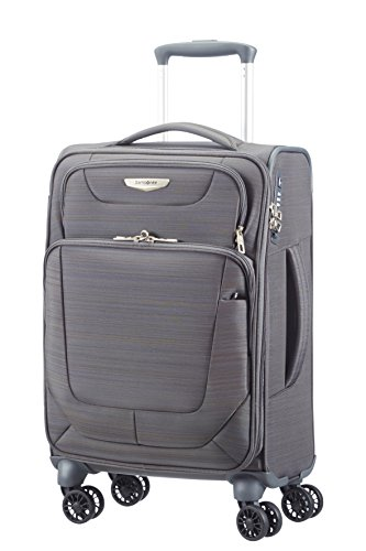 Trolley Cabina Samsonite | 4 Ruote 55 | Linea Spark | 38V004-New Grey
