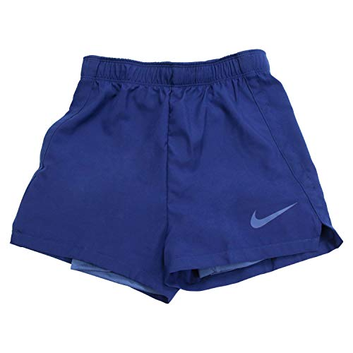 Nike Mädchen Dry 2In1 Shorts, Blau, S