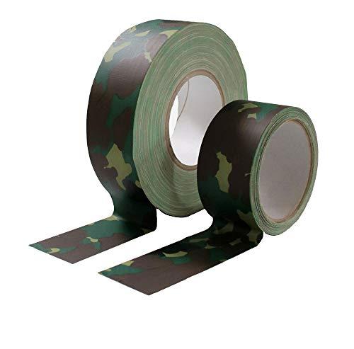 Gewebeband Markierungsband Panzerband Gaffatape Warnband Breite 50mm, Länge: 5m, 10m, 25m und 50m (10m)