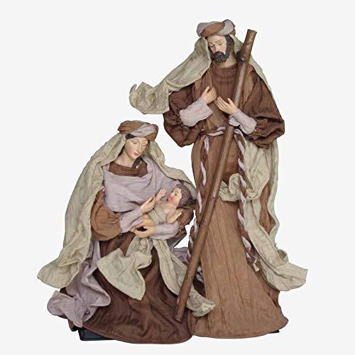 Better & Best Naciamento tuniek met standaard, groot, beige, afmetingen: 19,5 x 9 x 30 cm, materiaal: Kunststof/stof