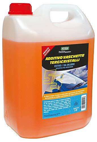 CORA 0055 Additivo Vaschette Tergicristalli Estivo Specifico per Moscerini, 5L