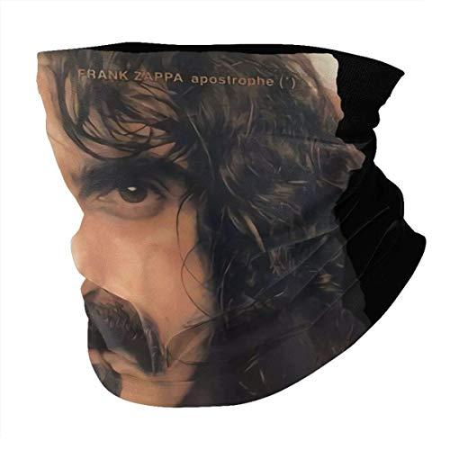 Ngxianbaimingj Bandanas, multifunción, pasamontañas para la cara, resistente al viento, polaina, gorro, calentador de cuello unisex, Frank Zappa apóstrophe