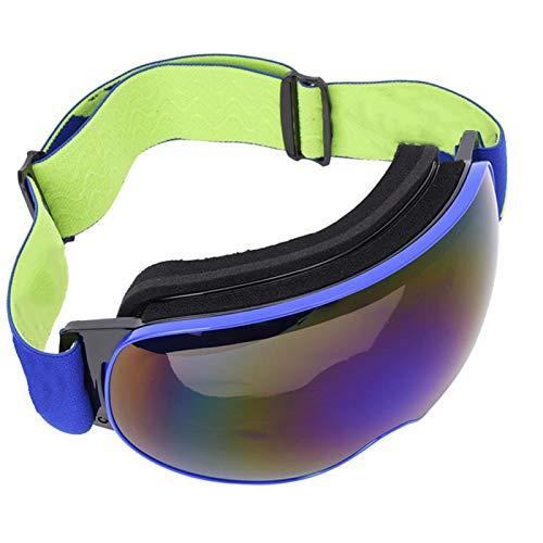 DAUERHAFT Gafas de esquí al Aire Libre Marco de TPU Antivaho Transpirable...