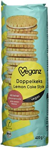 Veganz BIO Doppelkeks Lemon Cake Style, 12er Pack (12 x 400 g)