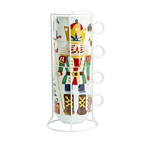 tazas navideñas fabricante Grace Teaware