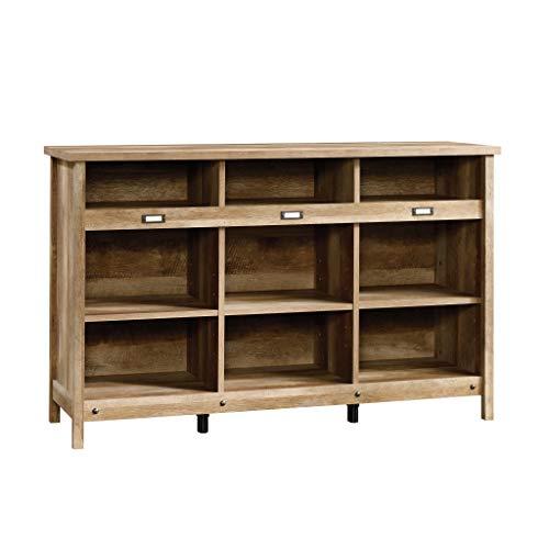 Sauder Adept Storage Credenza, Craftsman Oak finish