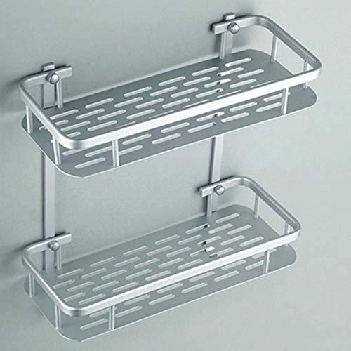Badezimmerregal Aluminium Eckkorb Badezimmerprodukte Kosmetik Aufbewahrungshalter Badezimmerzubehör