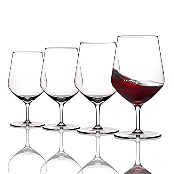 Fusion Air by Wine Enthusiast Short Stem Taste Wine Glasses - Set of 4