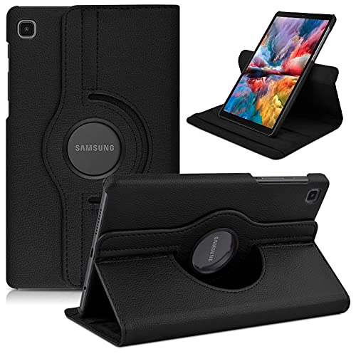 GLAXX Flip Cover for Samsung Galaxy Tab A7 Lite 8.7 inch Rotating Flip Case Cover – Black