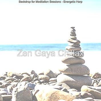 Backdrop for Meditation Sessions - Energetic Harp