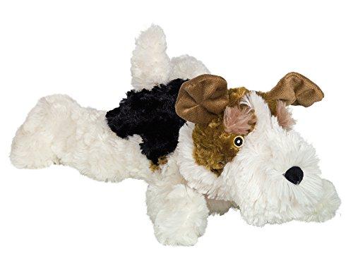 """Nobby Plüsch Hund liegend """"FOXTERRIER"""" 39 cm"""