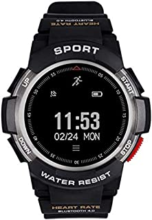Gymqian Fitness Tracker F6 Smart Watch/Heart Detection Watch Ip68 Sports Watch Pantalla de Reloj 1 Pulgada Profundidad Impermeable a Prueba de Agua Se Puede Usar Submarino Sport F
