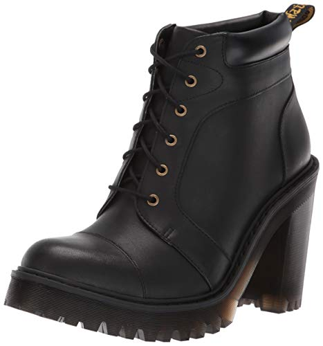 Dr. Martens Women's Averil Fashion Boot, Black Sendal, 8