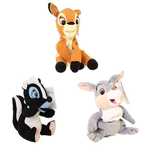 Disney 'Bambi' Plush 6' Bambi, Thumper and Flower Bean Bags