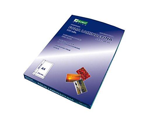 D.Rect A5 125Mic A'100 - Papel para plastificar