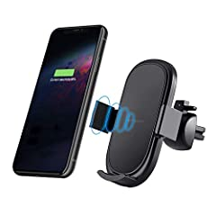 One-handed operation: The wireless Reakosound car charger will open, hold and charge your mobile phone automatically when you touch the touch sensor with one hand, Do not worry if the smartphone battery is running low with navigation while driving. ...