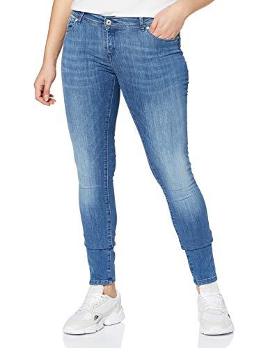 KAPORAL Damen Locka Slim Jeans, Blau, W32/L34 (Herstellergröße:)