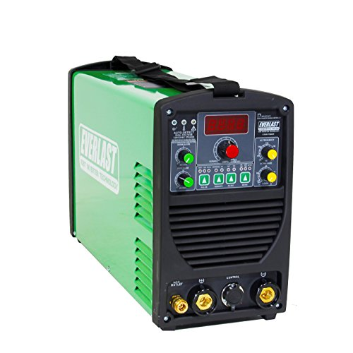 2021 Everlast PowerTIG 185DV AC/DC TIG Stick Welder 110/220 Volt Inverter-based Dual Voltage 185Amp