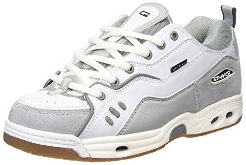 Globe CT-IV Classic, Sneaker Uomo, Grigio, Bianco e Grigio, 40.5 EU