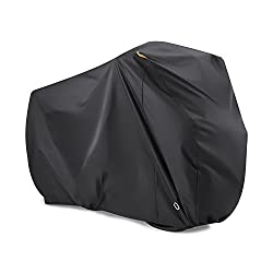 LOVE YOUR BIKES JUST AS YOU RPRECIOUS CAR - If you resolve NOT to waste too much money on the damage caused by Heavy Rain, Snow, Dust, Scratches and the Sun, you should learn how to protect you precious bikes. The Beeway bike cover will provide an EX...