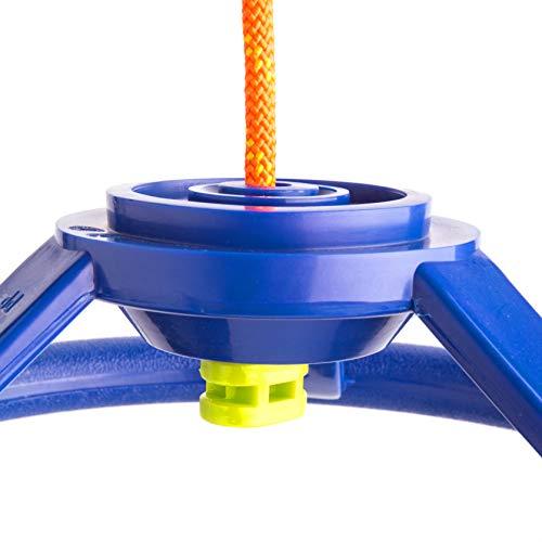 41HsmzOXaPL. SL500  - Cateam Rueda giratoria Ninja Line con articulación giratoria de 360 grados y mosquetón ninjaline, accesorio giratorio de 360 grados para tu carrera de obstáculos