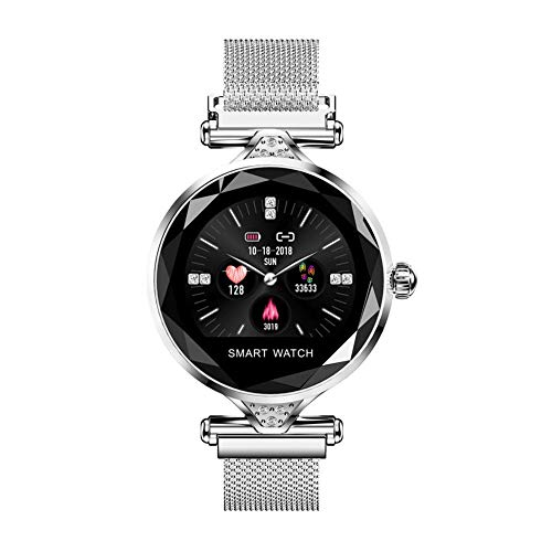 TIANYOU H1 Women Smart Watch Dispositivo Portátil Pedómetro Bluetooth Monitor de Frecuencia Cardíaca para Android/Ios Pulsera Inteligente Regalo de vacaciones/B