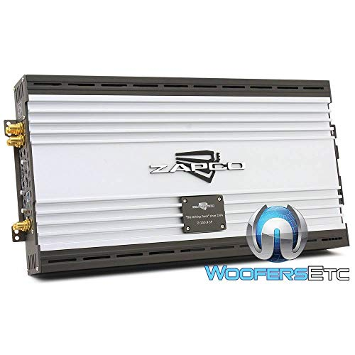 Great Deal! Zapco Z-150.4SP 4-Channel 550W RMS Super Power Class AB Amplifier