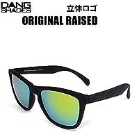 DANG SHADES DANG SHADES ダンシェイディーズサングラス ORIGINAL RAISED BLACK ソフト x GOLD MIRROR VIDG00037-1