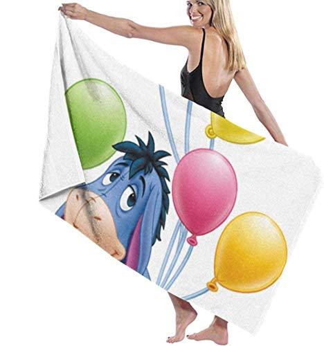 BAOYUAN0Eeyore Winnie The Pooh Toalla de Playa Juego de baño Toallas de baño Accesorios Toalla de Piscina 80*130cm